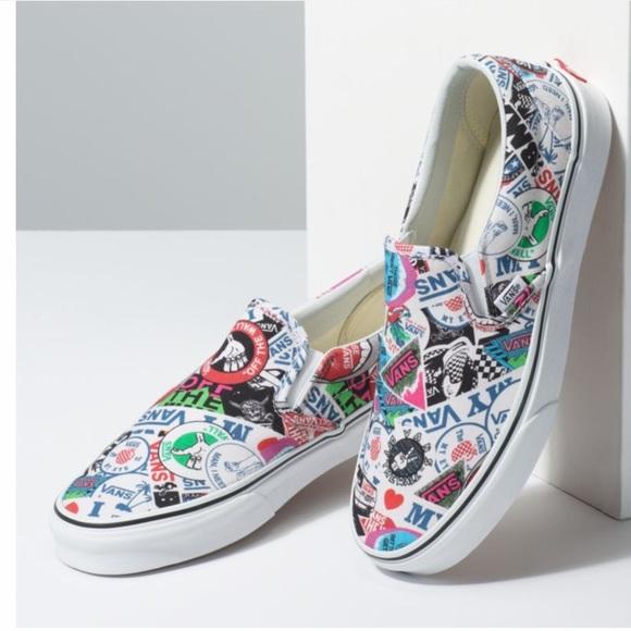 Vans Shoes | Nwot Mash Up Slip On